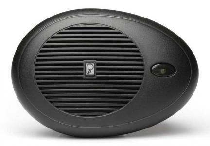 Speaker - Poly Planar Teardrop/Oval - Black (#1144)