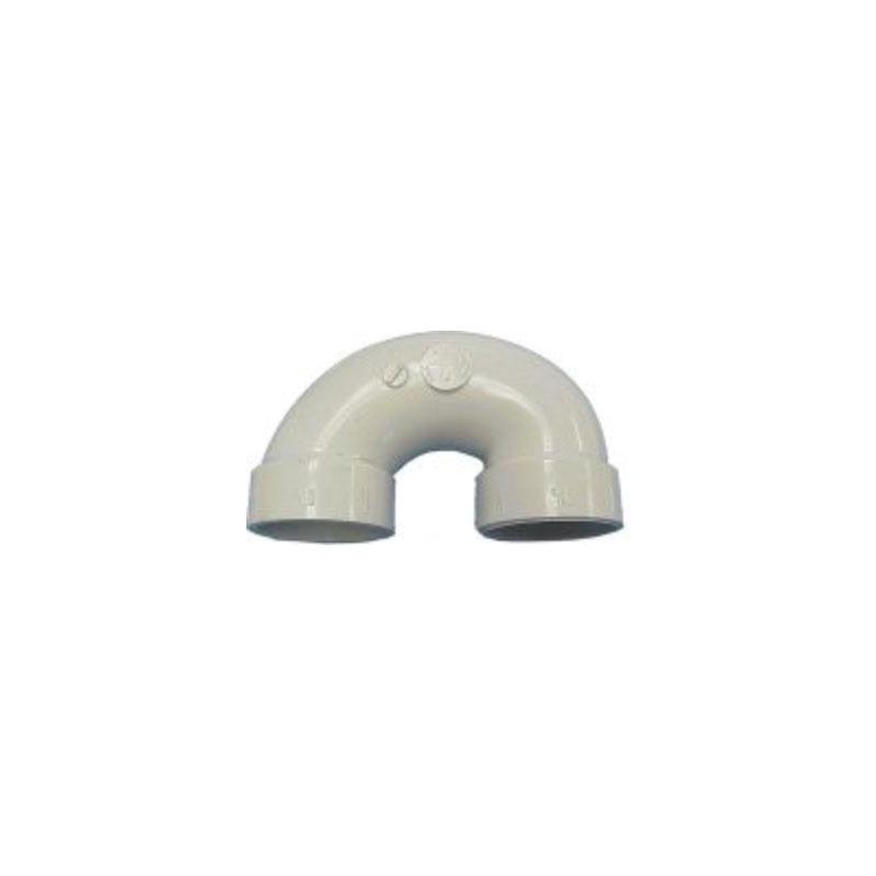 "PVC U-Bend - 1-1/2"" Slip (#1204)"