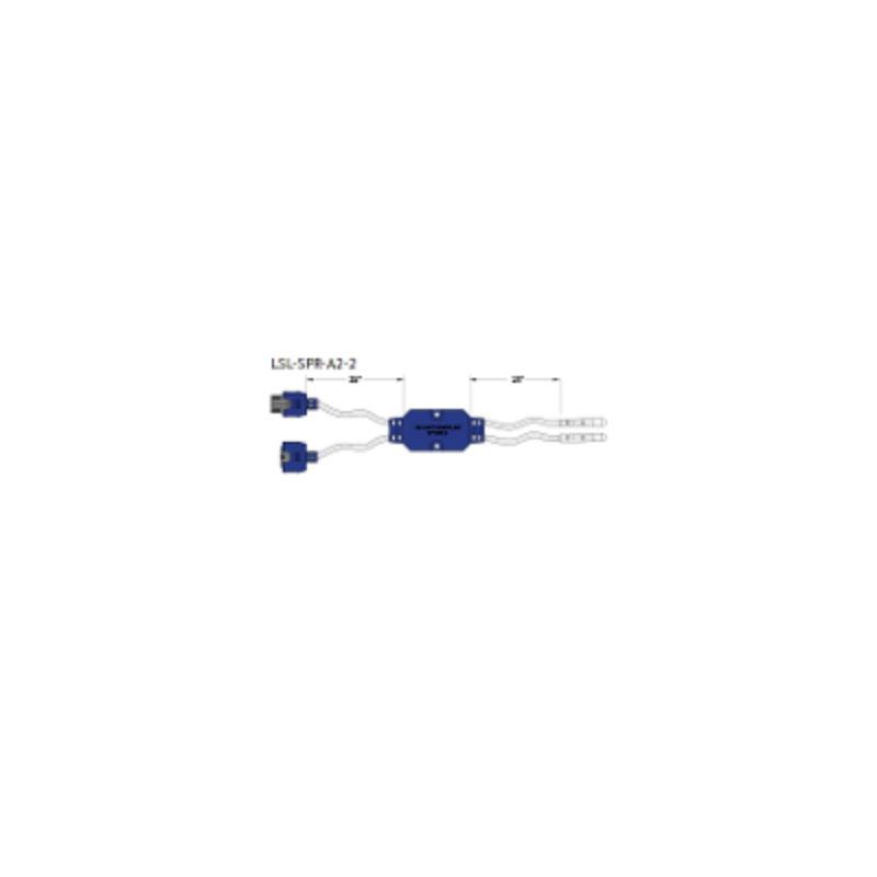 Perimeter Lighting - J&J 2 Strand LED Spyder (#1318A)
