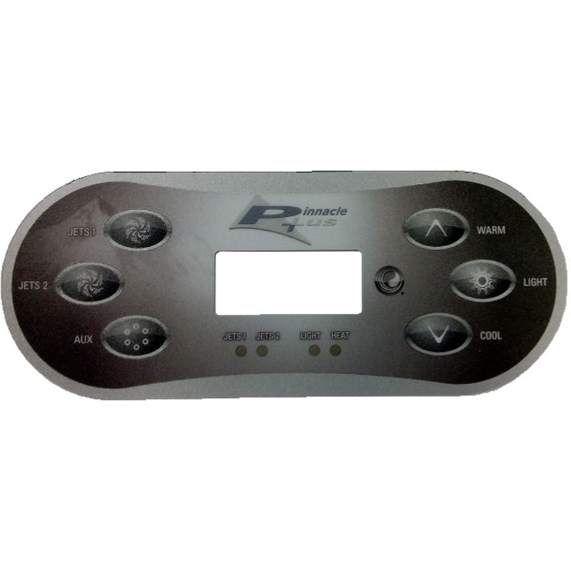 Topside Overlay - Pinnacle Plus 6-button for TP600CE (#13309)