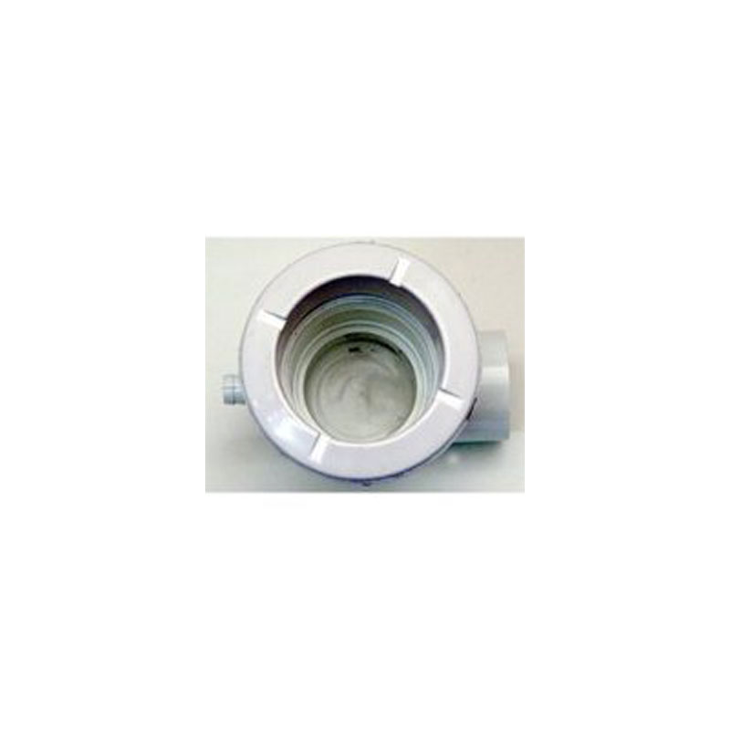 "Jet Body - Waterway Poly 3/8""B x 1/2""S same side - White (#2105770)"