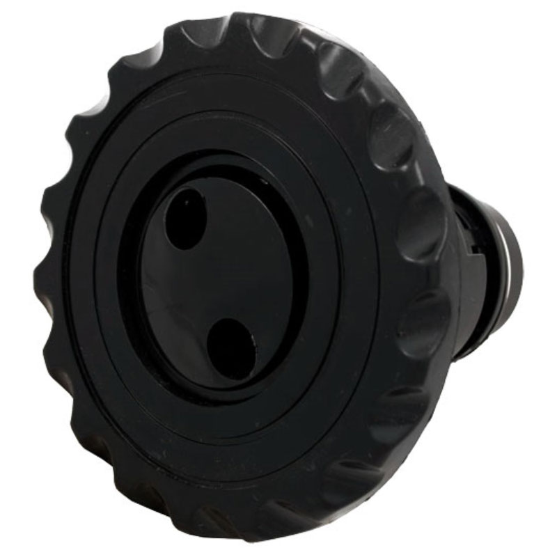 "Jet Insert - 3.5"" Poly Threaded Pulsator - Black (#2106071)"