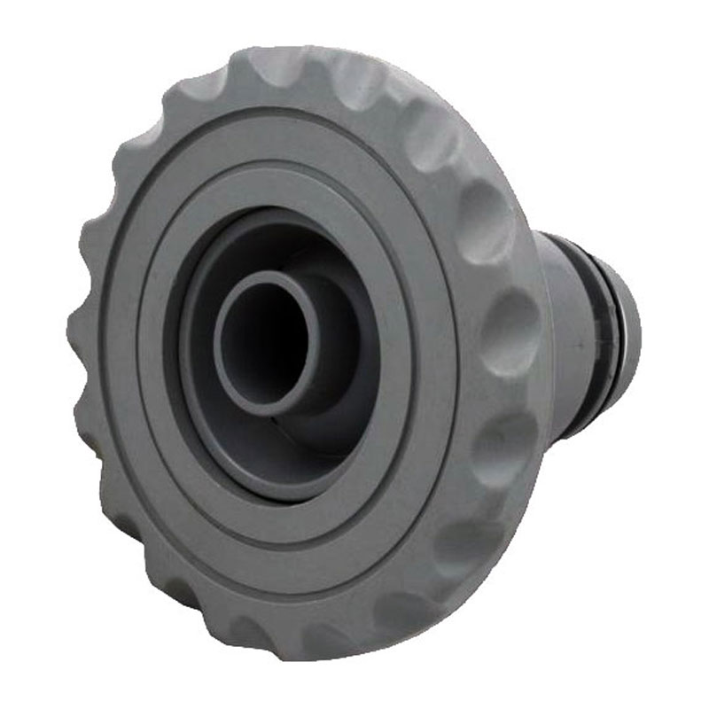 "Jet Insert - 4"" Poly Threaded Deluxe Directional - Large Face Gray (#2126187)"
