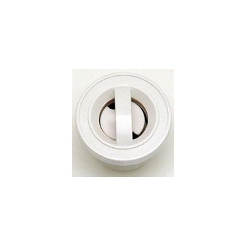 White S/S Non-Adjustable Pulsator Jet Internal
