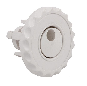 "Jet Insert - 2.5""  Mini Adjustable Whirly - White (#2241020)"
