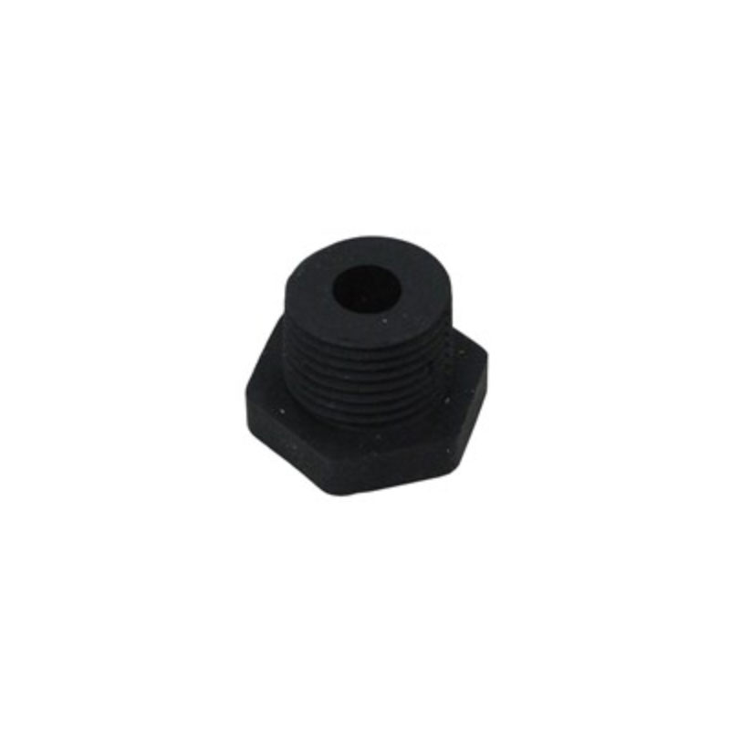 "Thermowell Nut - 1/2"" MPT x 3/8"" ID - Rubber - 2499"