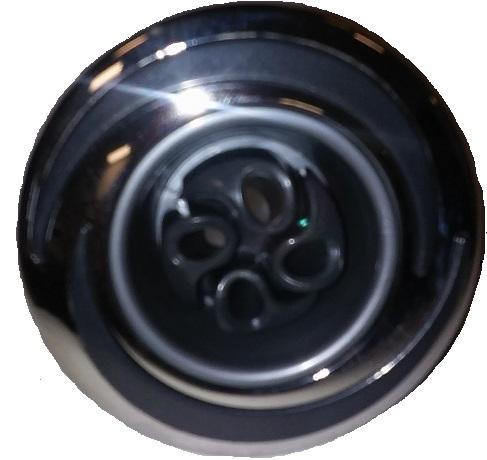 "Jet insert - 3"" 4-Roto Pro-Loc Halo-SS/Graphite (#29530101500)"