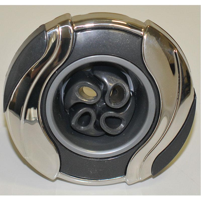 "Jet Insert - 3-1/4""  4-Roto Pro Loc Leaf  Graphite/SS (#29537101500)"
