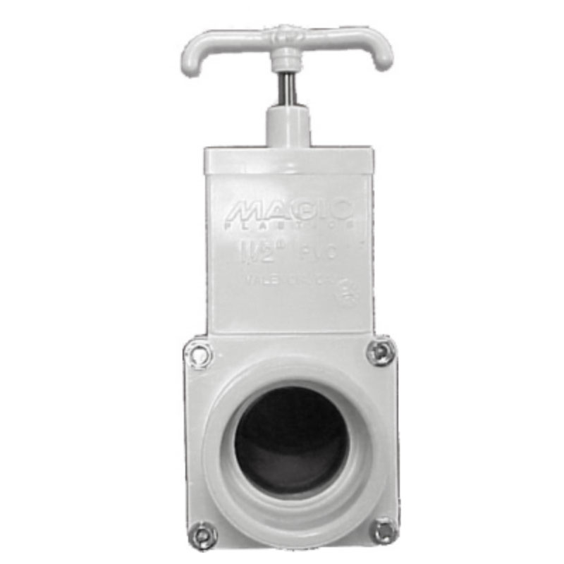 "Gate Valve - 1.5"" S x 1.5"" S - 3-Piece Body  (#2971)"