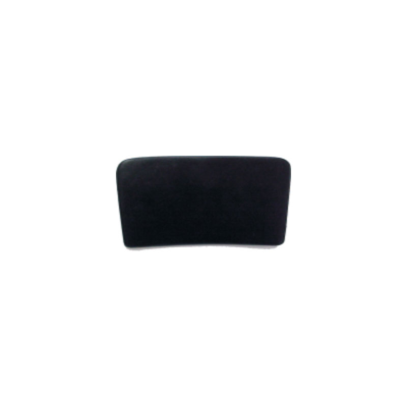 "Pillow - 8-1/2"" Flat Black w/ suction cups (#3002)"