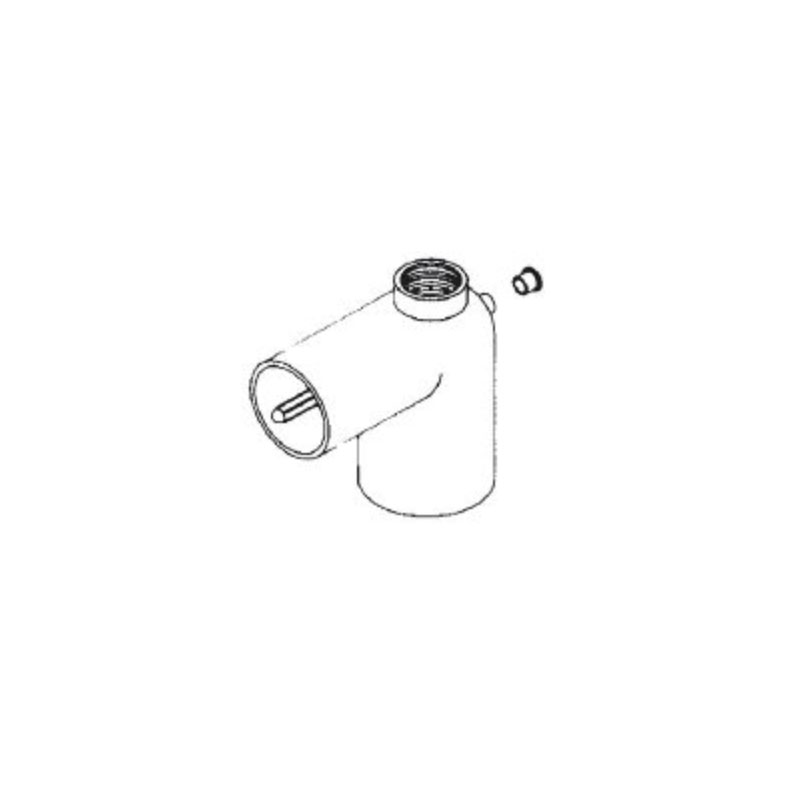 Thermowell Elbow1-1/2sxSx3/4 - 4005560