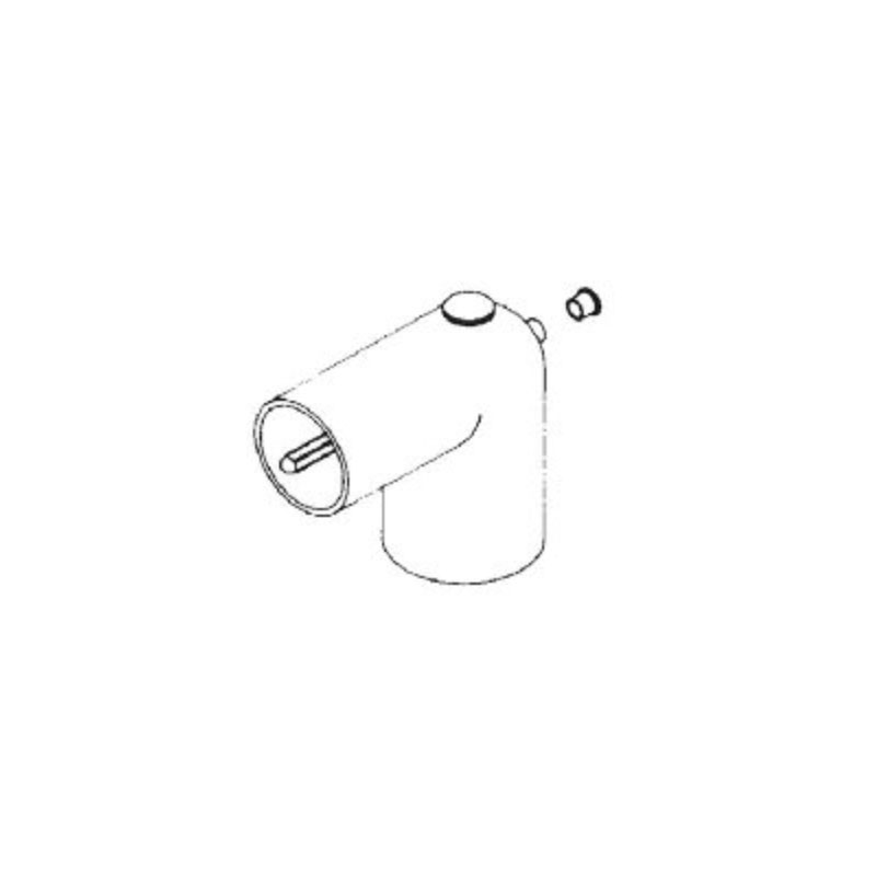 Thermowell Elbow 1-1/2 SxS - 4005580