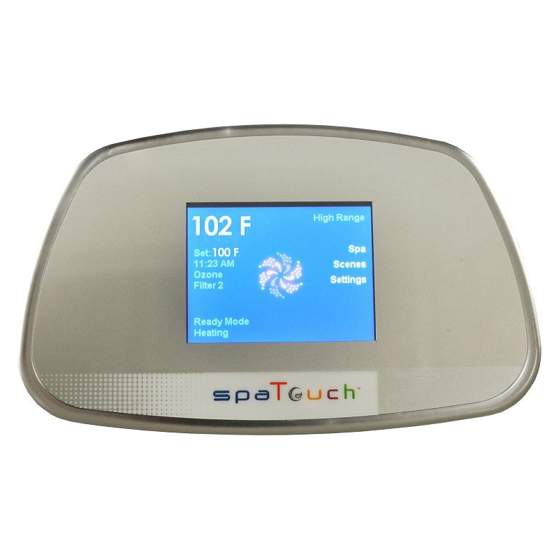 Topside - Spa Touch Digital Trapezoid Touch Screen (#50390)