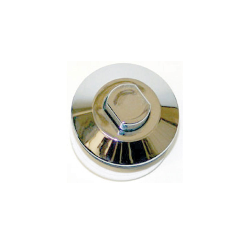Air Button - Pres Air Trol Oval, Chrome (#5138)