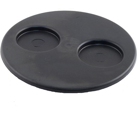 Filter Lid - Black - 2-Cup Holders- 5191081