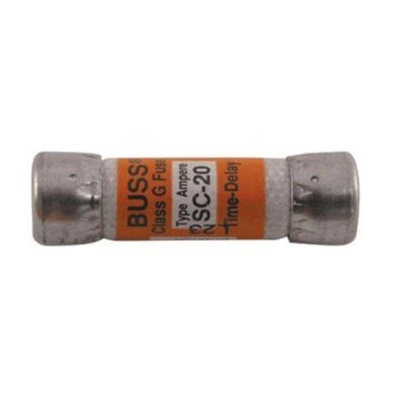 Fuse - 20 Amp, 250 Volt, SC-25 Class G (#5289)