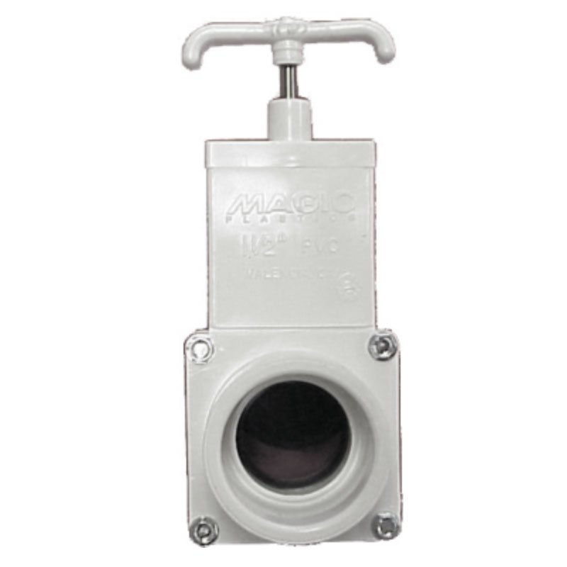 "Gate Valve - 2"" S x 2"" S - 3 piece Body (#5306)"