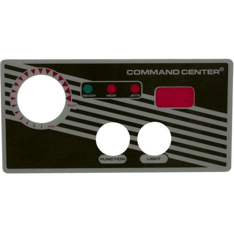 Topside Overlay - Tridelta/Tecmark 2-Button w/ LED (#5482)