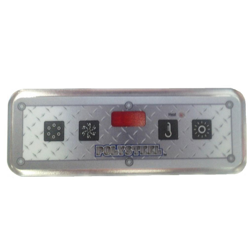 Topside - Leisure Bay Lite Duplex 4- Button Digital (#55084)