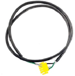 "Cord - Male AMP 48"" for Ozone - Yellow (#6028)"