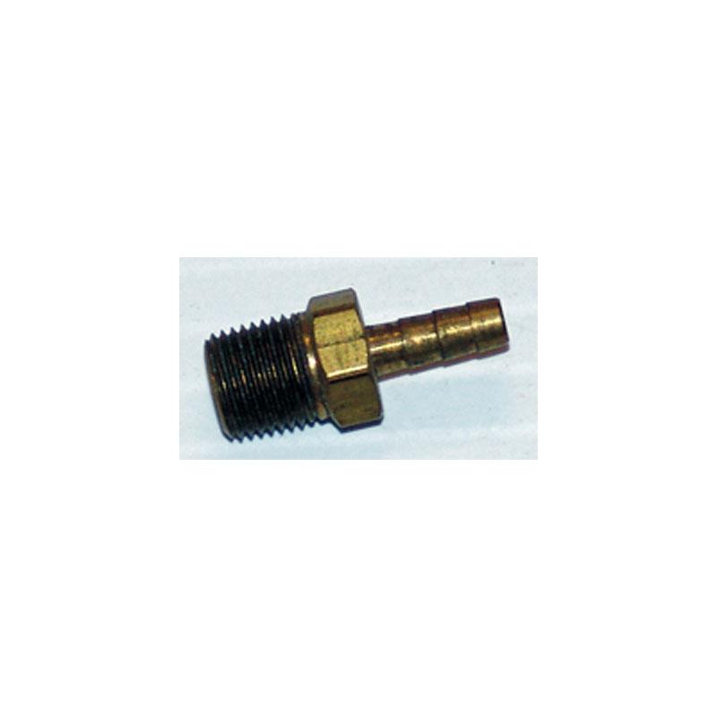 "Adapter - 1/8"" MPT X 1/8"" Barb - Brass (#6066)"