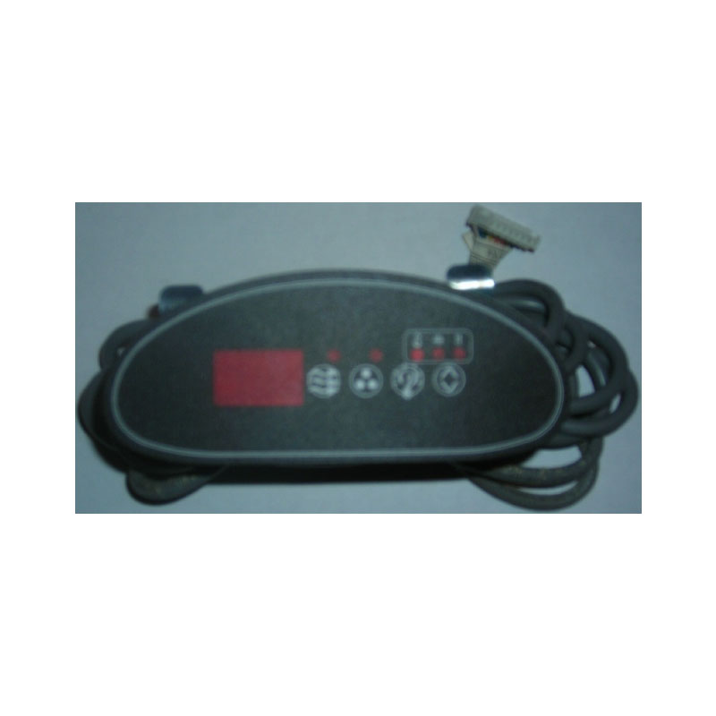 Topside - Hydro Quip ECO2 4-button Digital Crescent (#6107)
