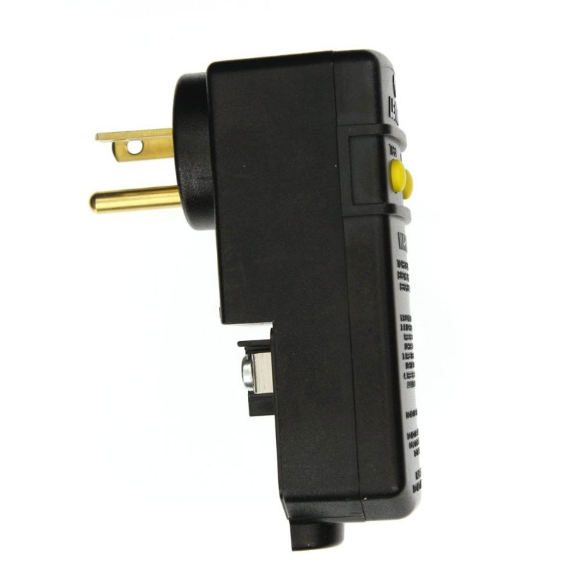 GFCI - 20 amp Cord Mount w/ Right Angle Plug (#6128)