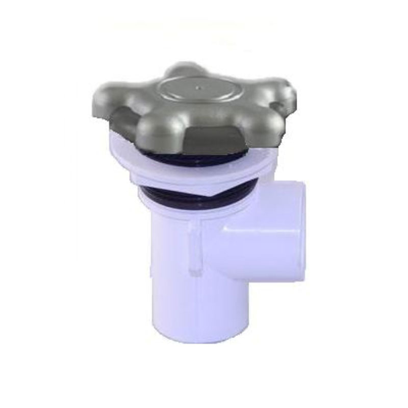 "Waterfall Valve - CMP On/Off 5-Star Handle w/ 1""S Ports (#621088)"