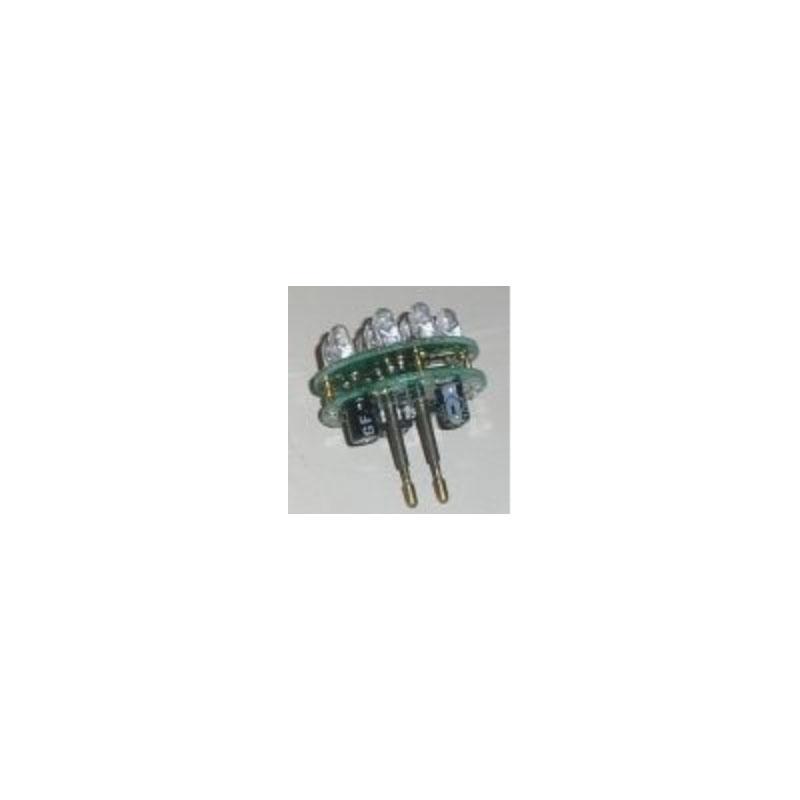 9 LED Bulbs w/ 2 pin Bayonet plug LED Light