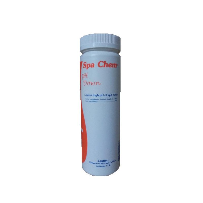 Spa Down - ph Decreaser Granular 1.5 lb. bottle (#7175)