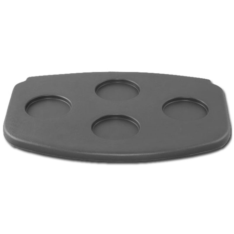 Filter Lid - 4-Cup Graphite - Gulfcoast (#822073)