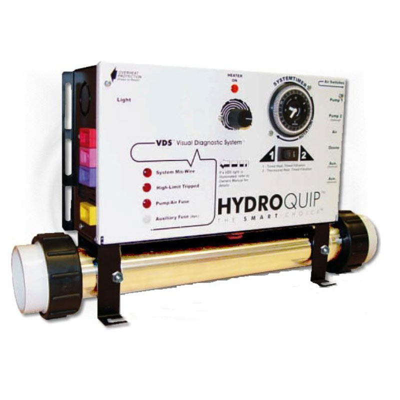 Hydro Quip 240v  2-pump System Spa Pack