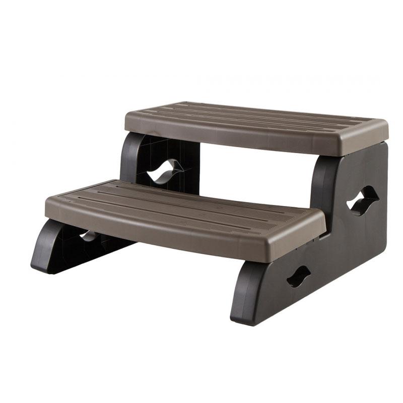 Spa Steps - Leisure Concepts - Dark Gray Color