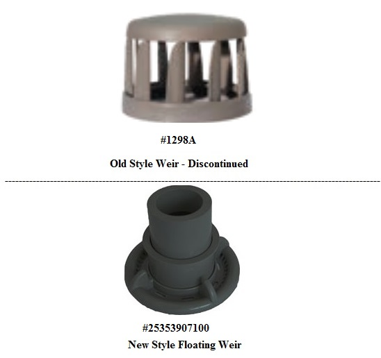 CMP Elite T/M Filter Vein Weir (#1298A) DISCONTINUED - Replaced with #25353907100